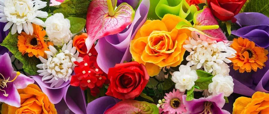 Выбор цветов для букета