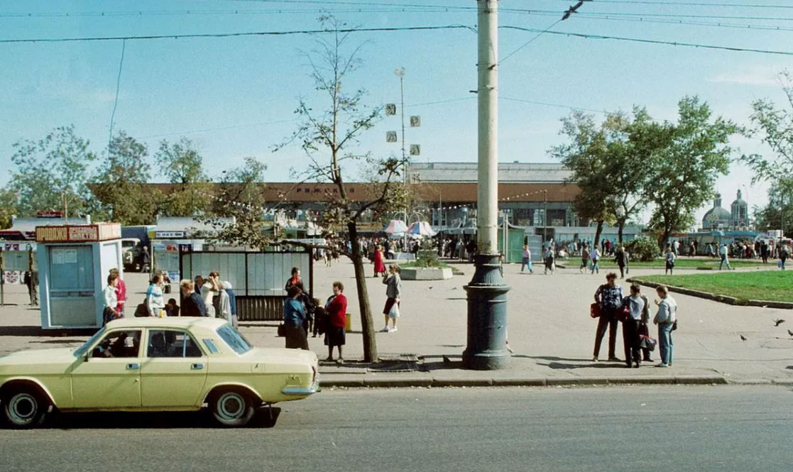 Рижский рынок, 1989 год
