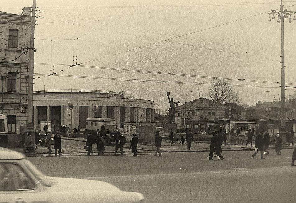 Метро Рижская, 1967 год (Март)