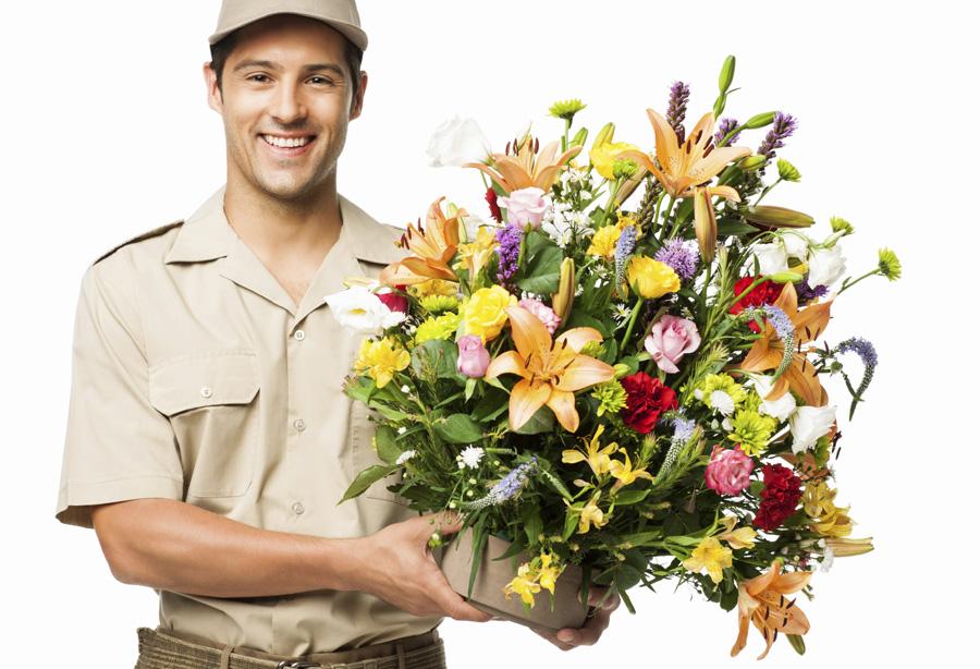 Доставка цветов с Рижского рынка