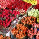 Букеты на Рижском рынке