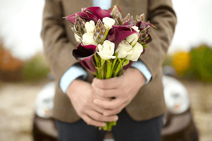 Букет цветов для мужчины