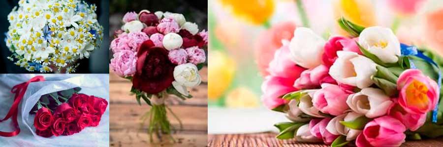 Букет цветов для мамы